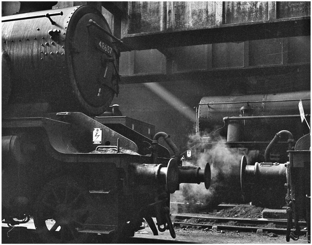 STEAM AND BUFFERS by Ron Churchill